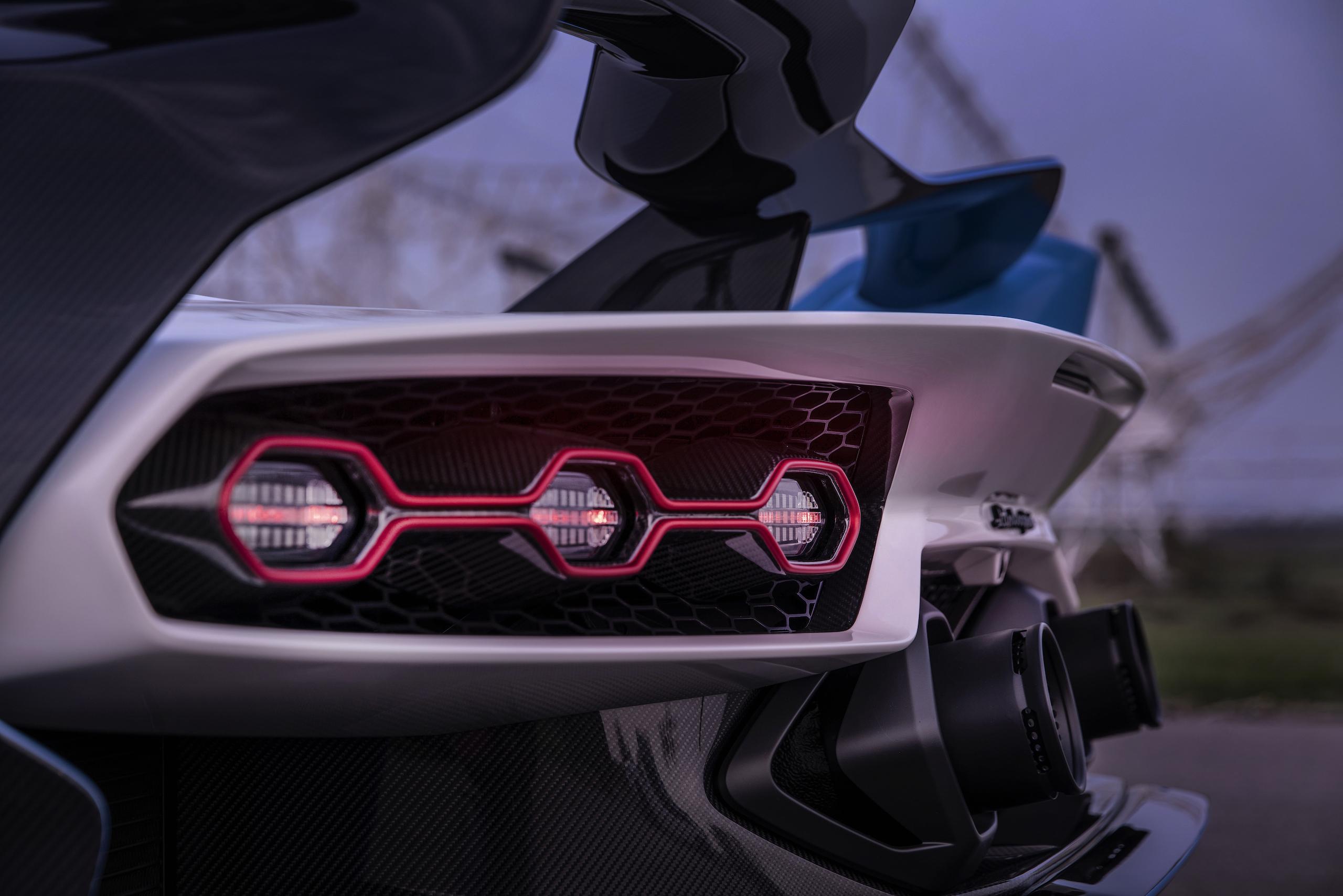 Lamborghini SC20 rear taillights