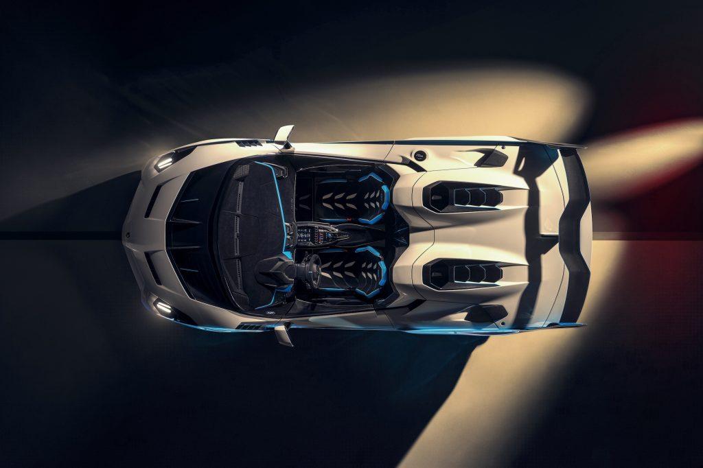 Lamborghini SC20 overhead