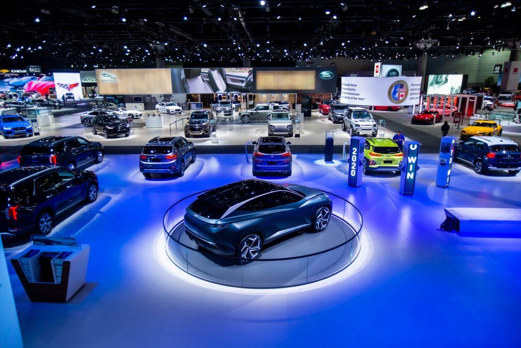 Los Angeles Auto Show Floor 2019