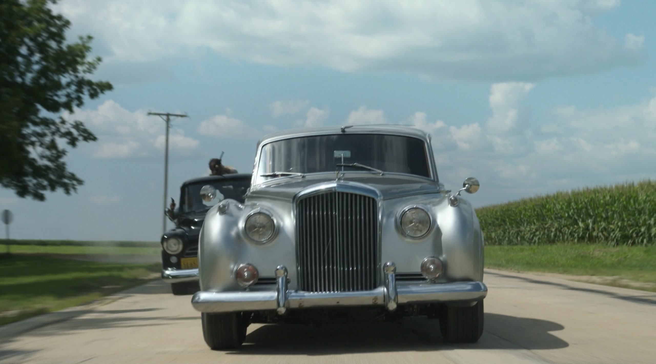 Lovecraft Country Bentley S1 front action