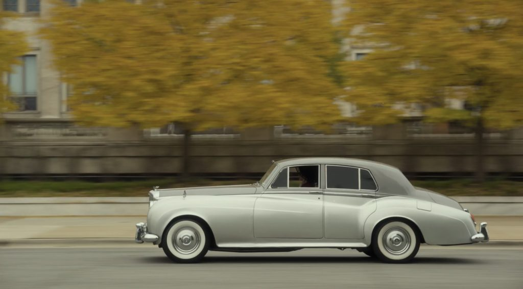 Lovecraft Country Bentley S1 side profile action