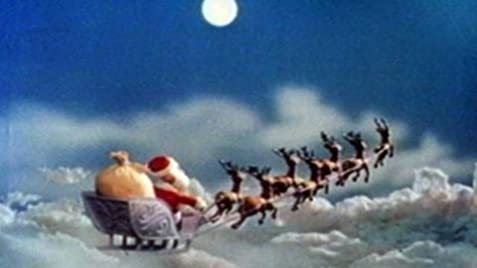 Rudolph the Red-Nosed Reindeer sleigh