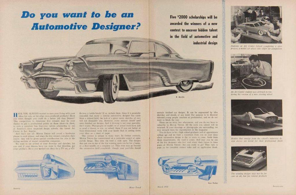 McKinley Thompson - 1953 Motor Trend contest