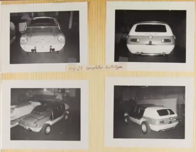 McKinley Thompson - Warrior Concept Car scrapbook pics