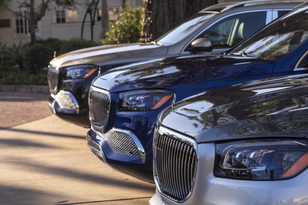 Mercedes-Maybach GLS 600 group front fascias