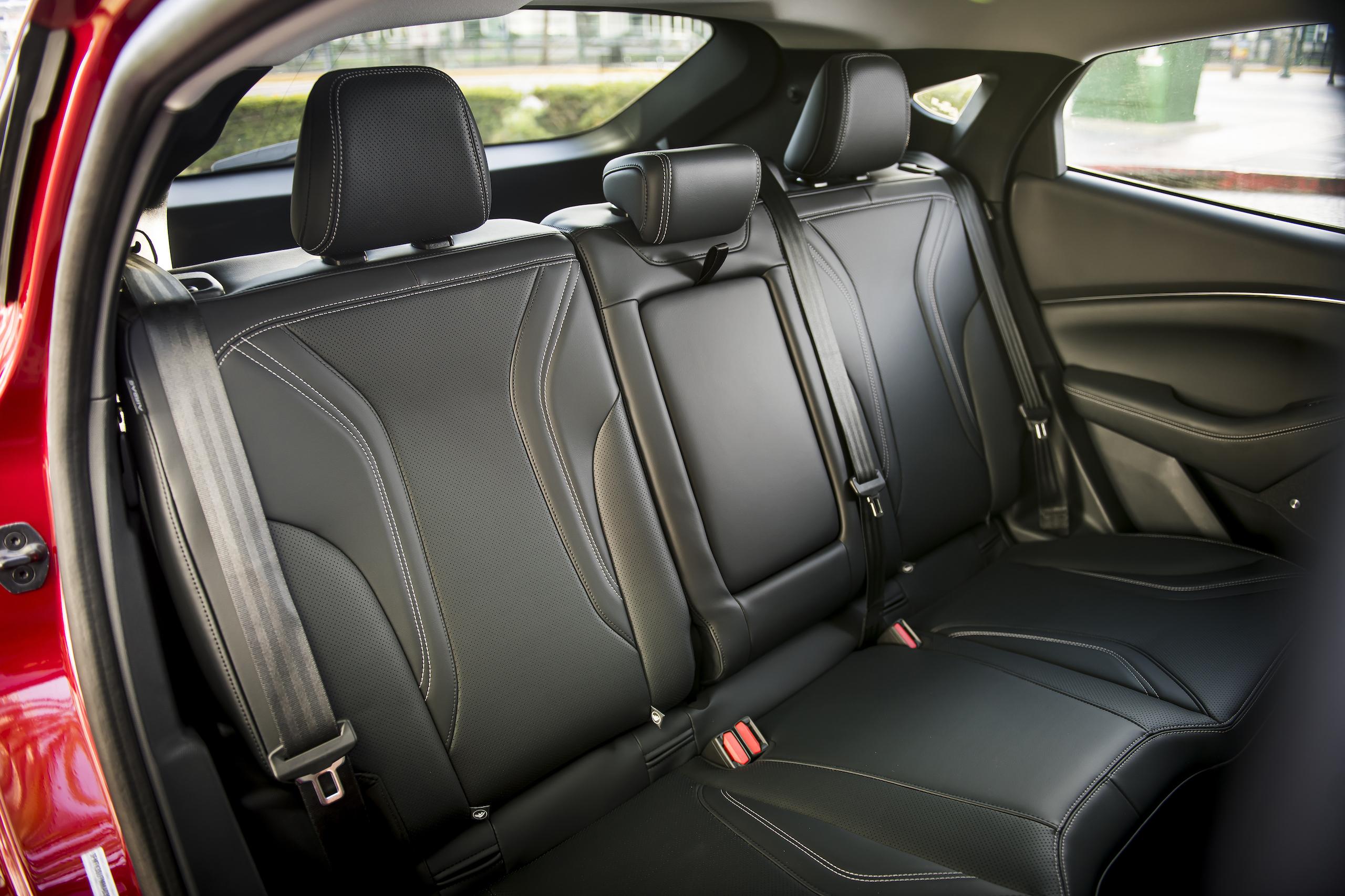 Mustang Mach-E interior rear seat