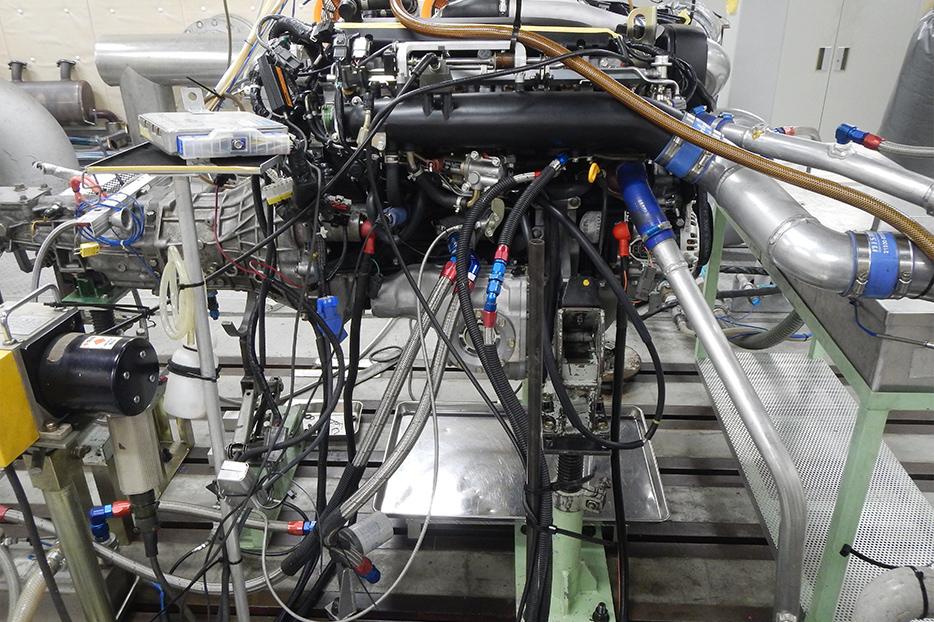 NISMO R32 RB26 engine dyno