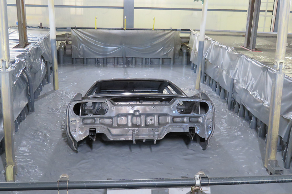 NISMO R32 chassis dip