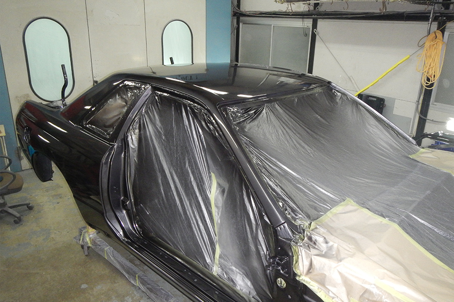 NISMO R32 paint work
