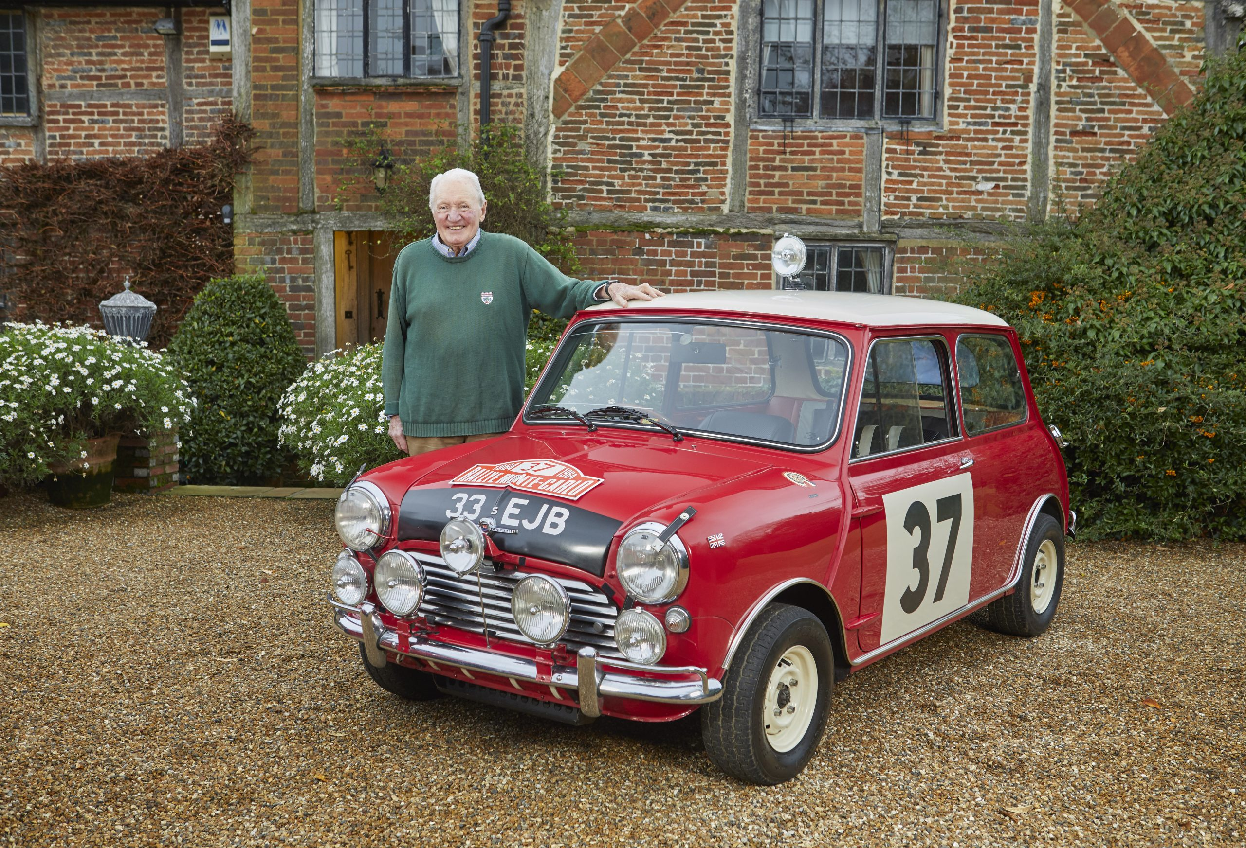 Paddy Hopkirk and MINI