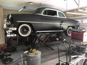 Rob Siegel - Removing a transmission on a mid-rise lift - Perfect-Home-Garage-Lift-BendPak