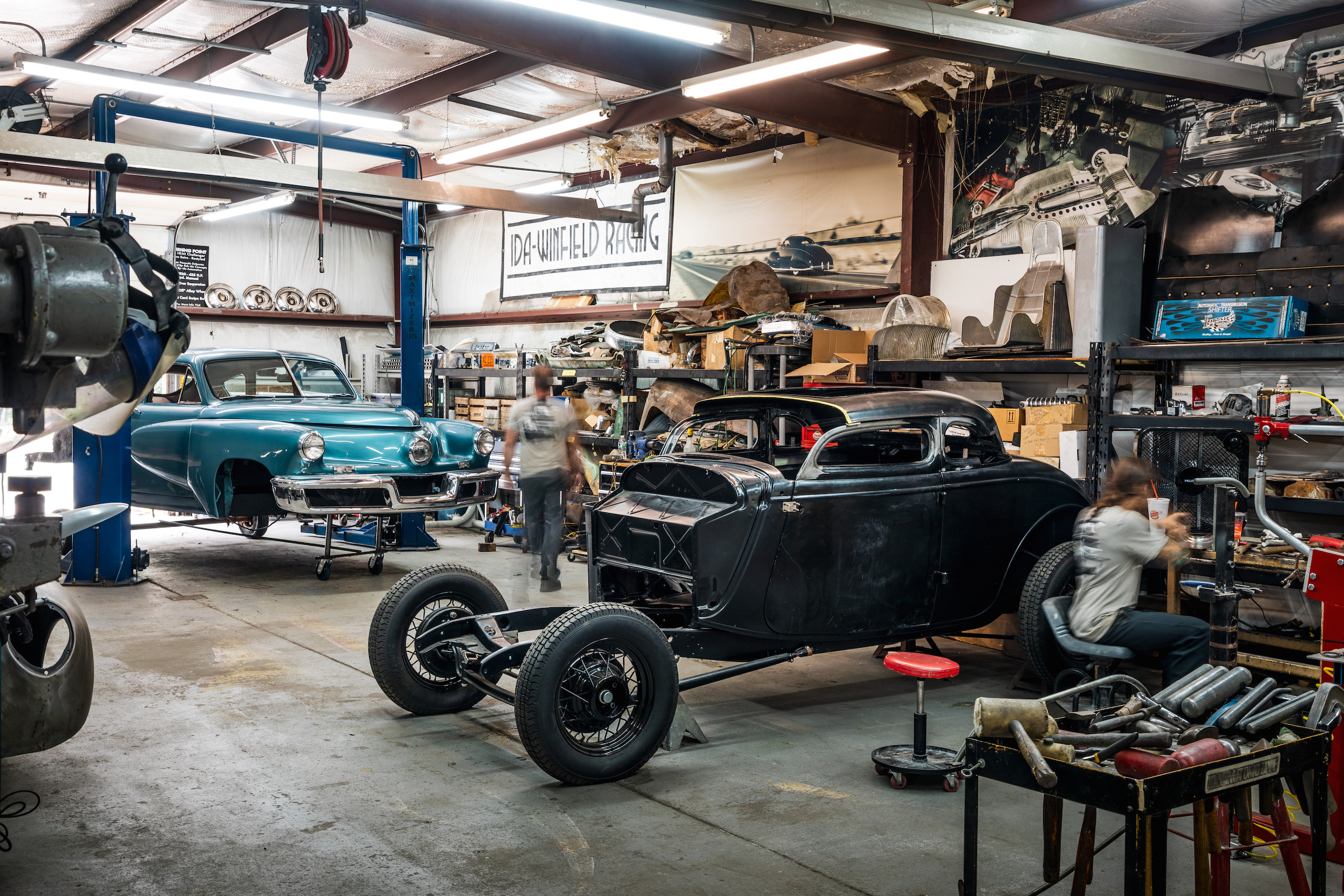 ida automotive shop work 1934 Ford