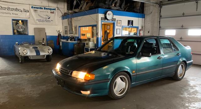 Saab 9000 Aero Project front three-quarter