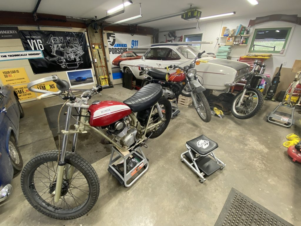 SL125 getting worked on