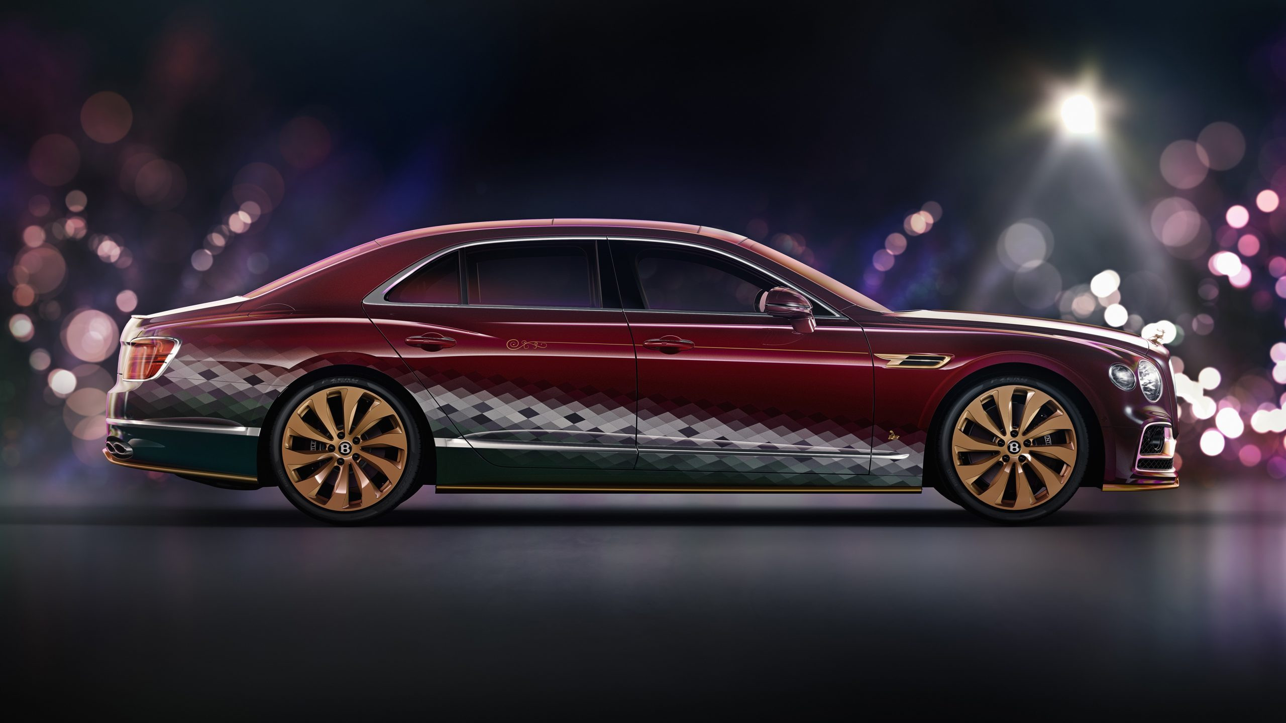 Bentley Santa's Flying Spur-2