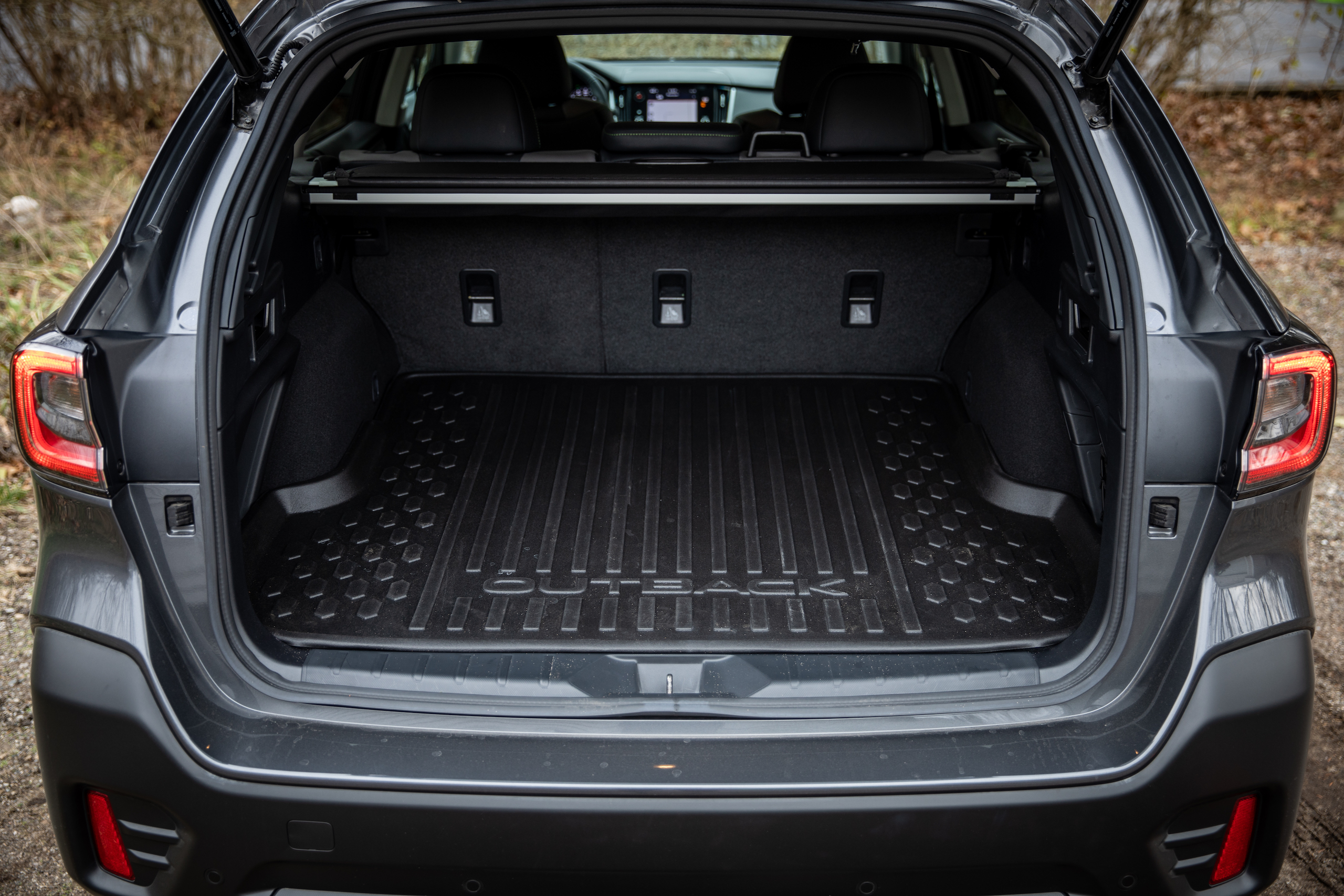 Subaru Outback rear trunk cargo area