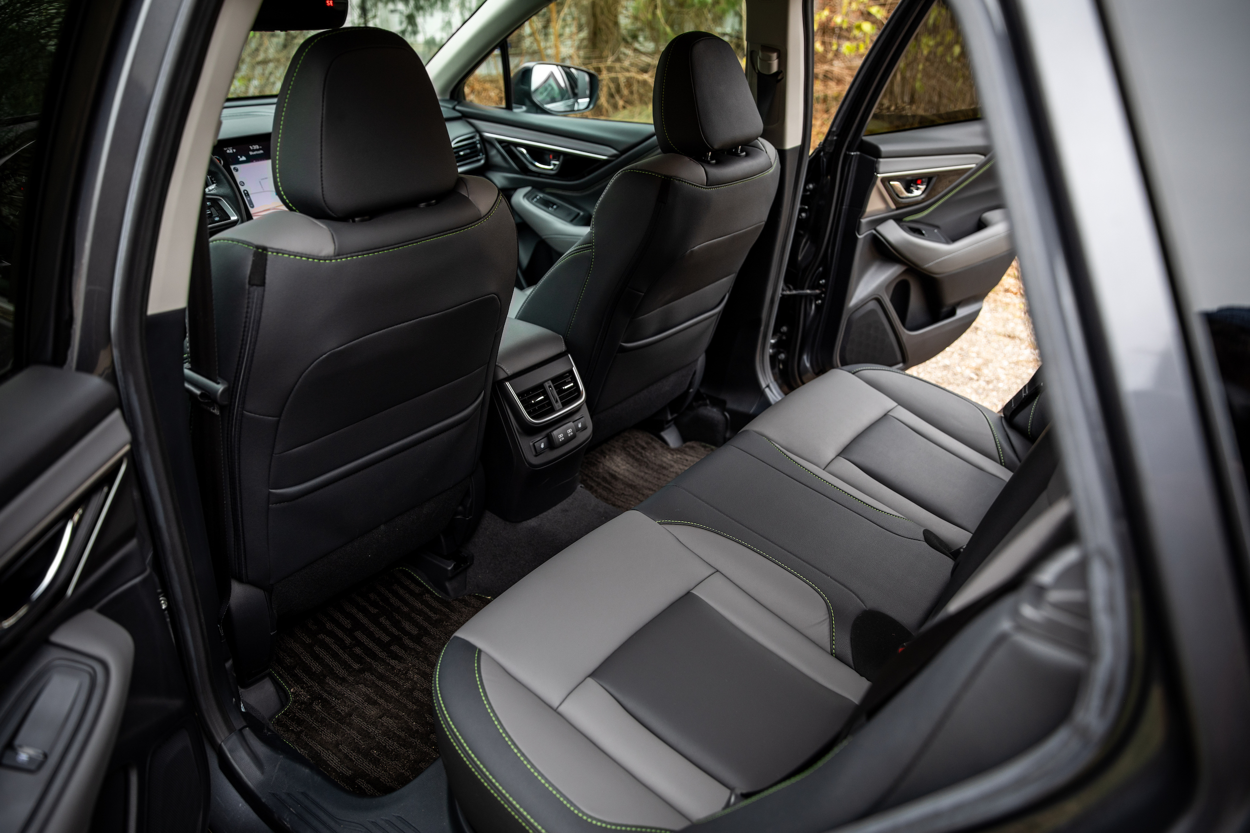 Subaru Outback interior rear seat