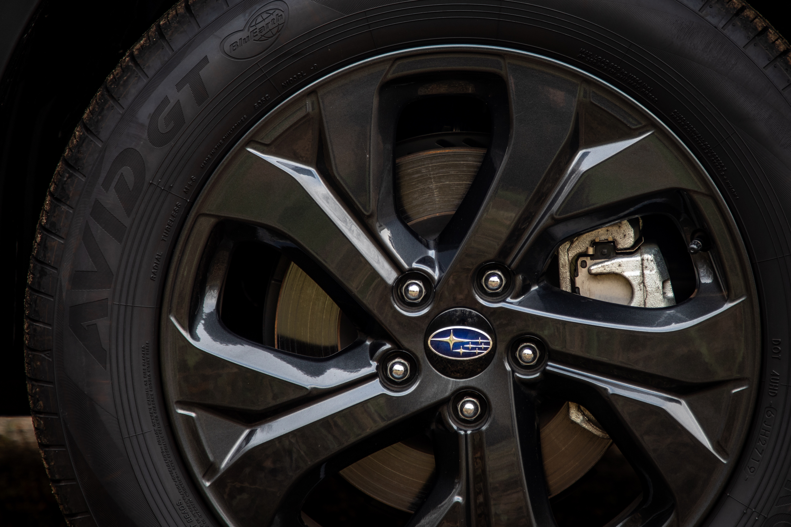 Subaru Outback wheel detail