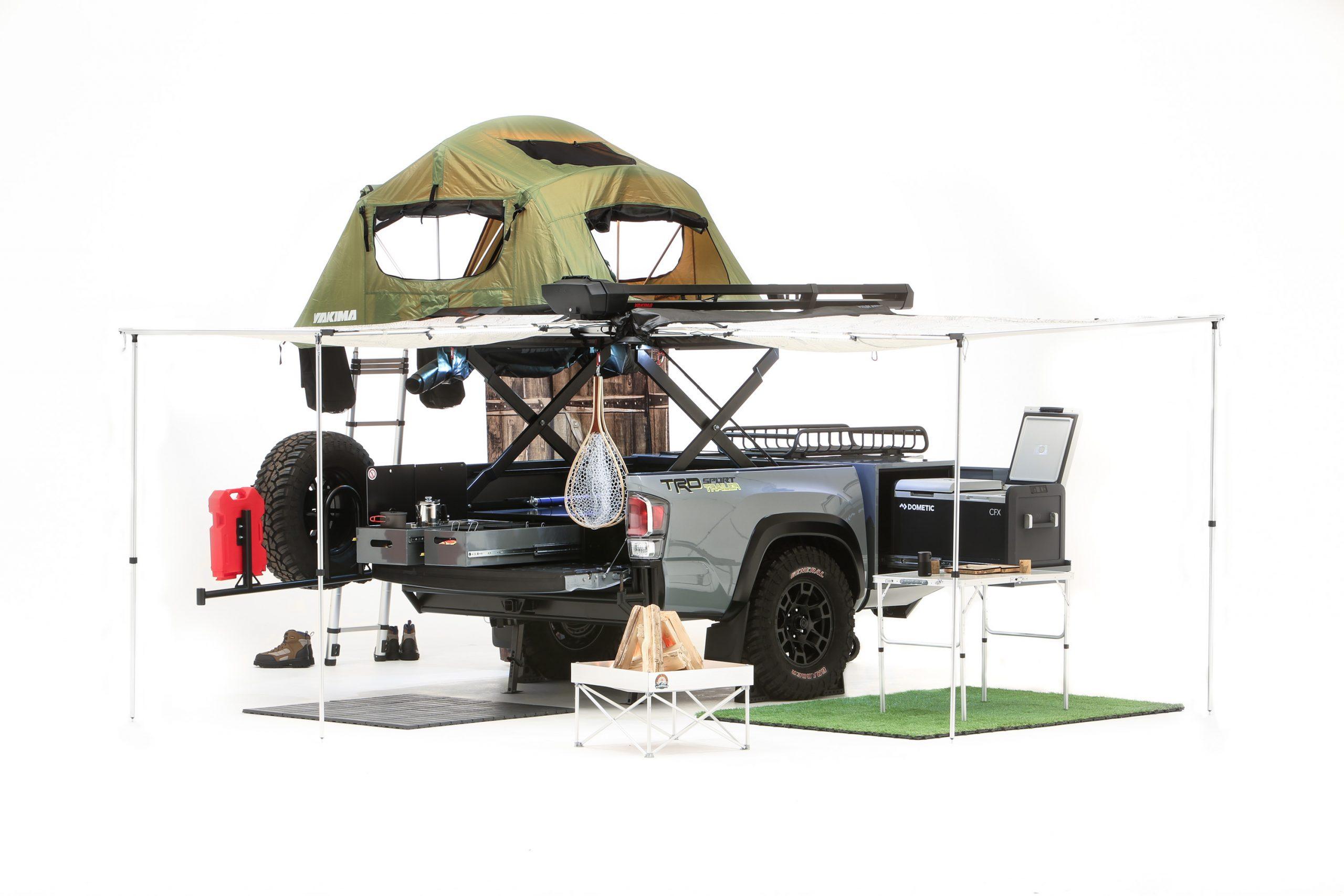 Toyota Tacoma Sport trailer SEMA