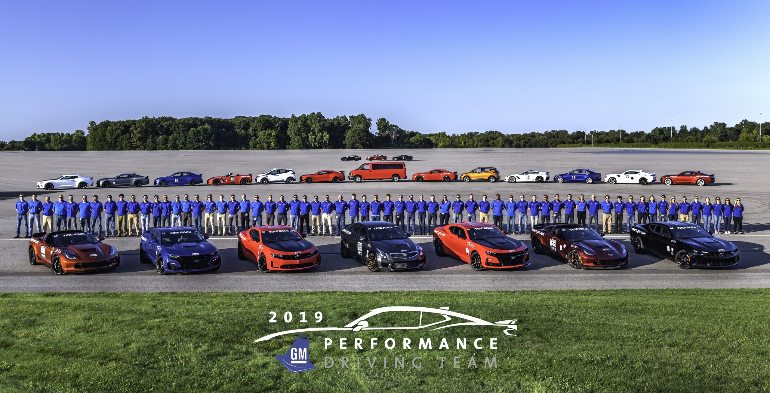 GM Performance driving team group