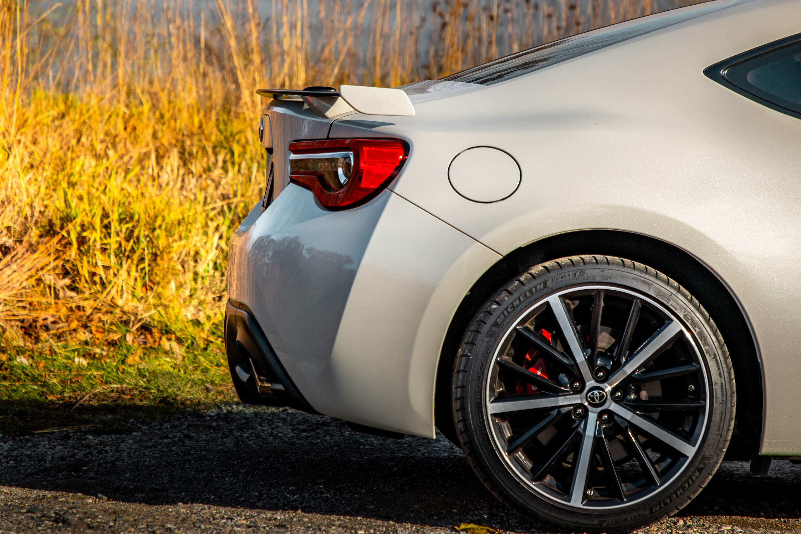 2020 Toyota 86 GT rear fascia side profile