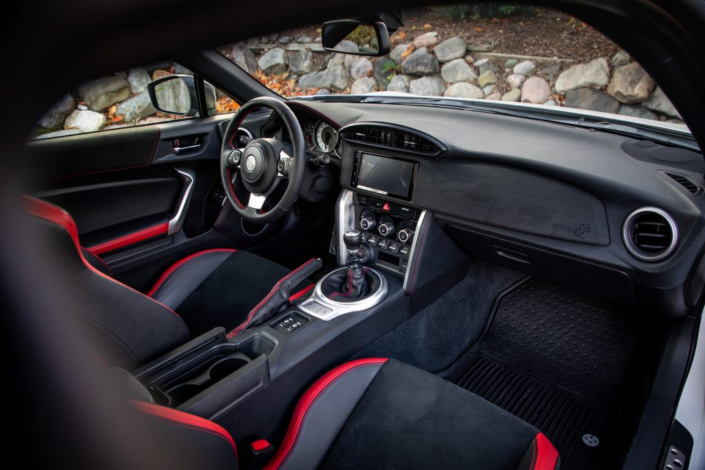 2020 Toyota 86 GT interior front angle
