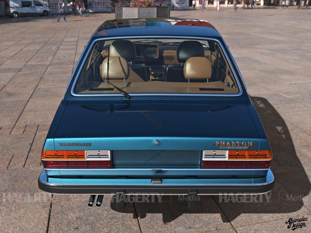 What If VW Phaeton rear