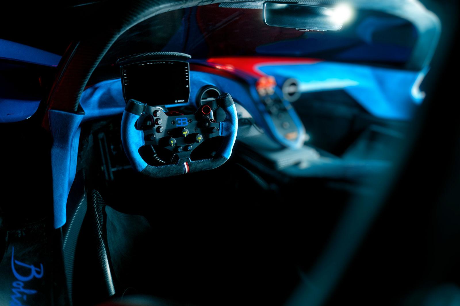 bugatti bolide supercar