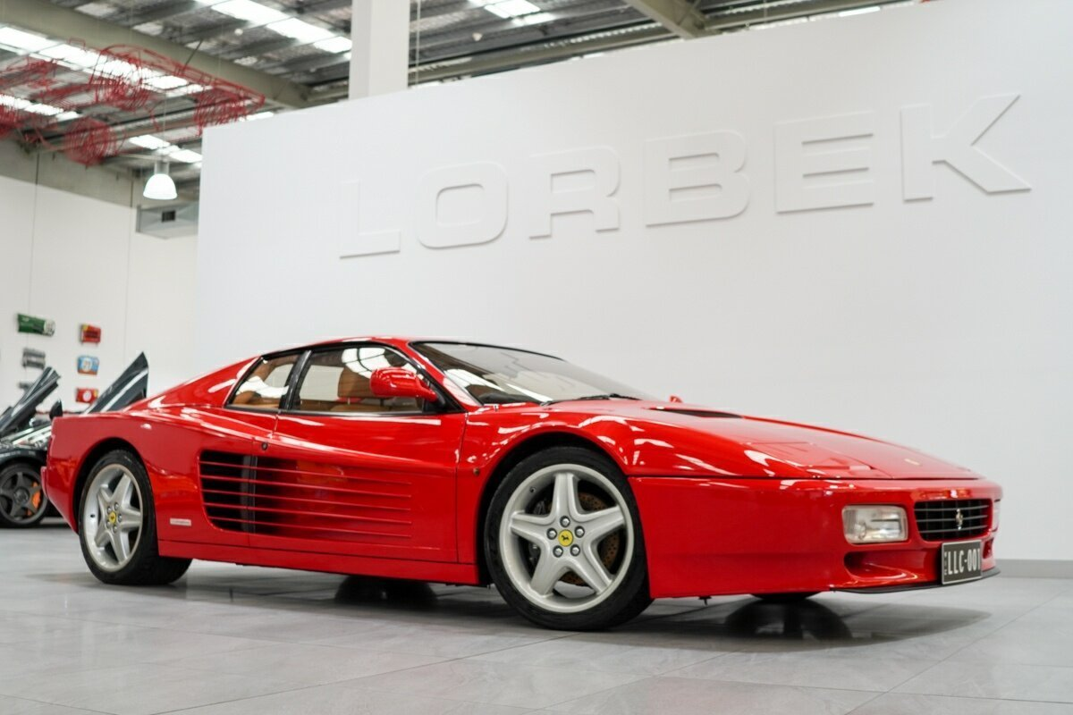 Ferrari 512TR profile