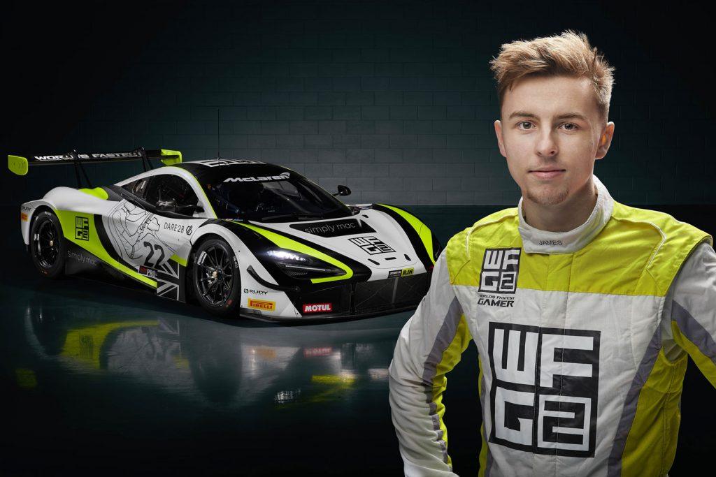 james baldwin e-sports professional racer