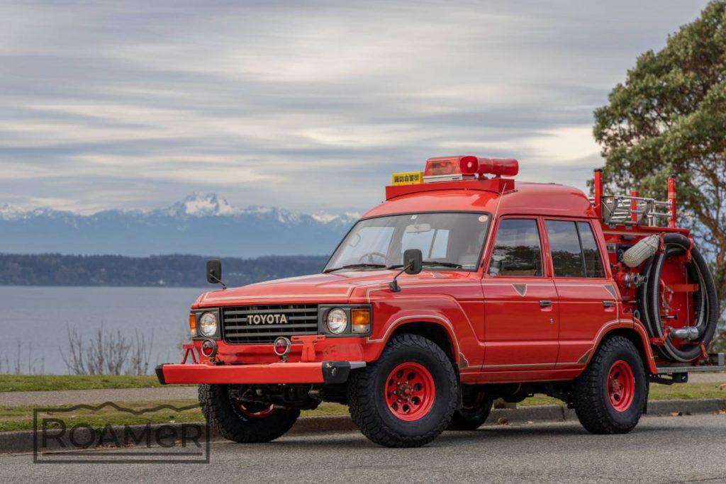 Toyota Land Cruiser FJ62 fire truck