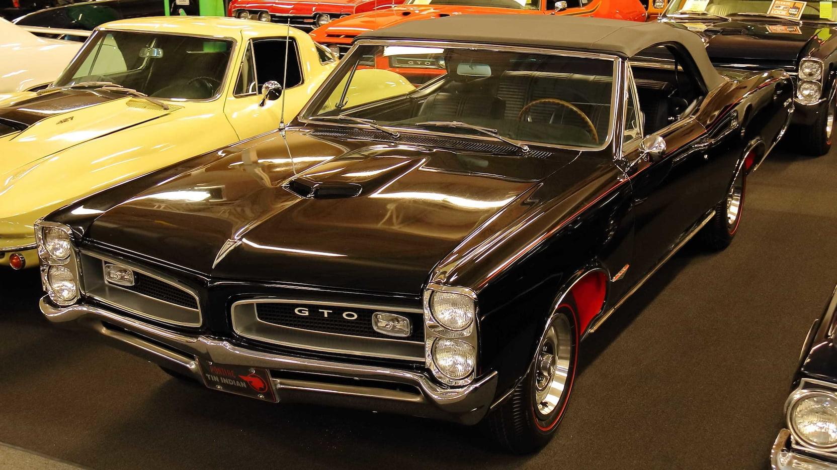 1966 Pontiac GTO convertible tri-power