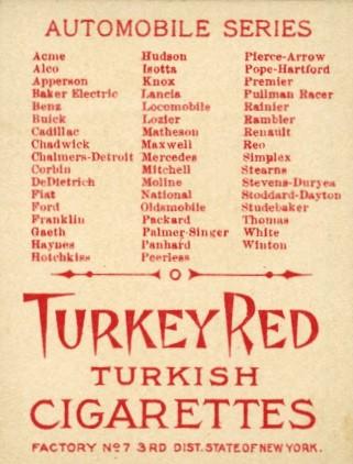 1910 Turkey Red T37 back