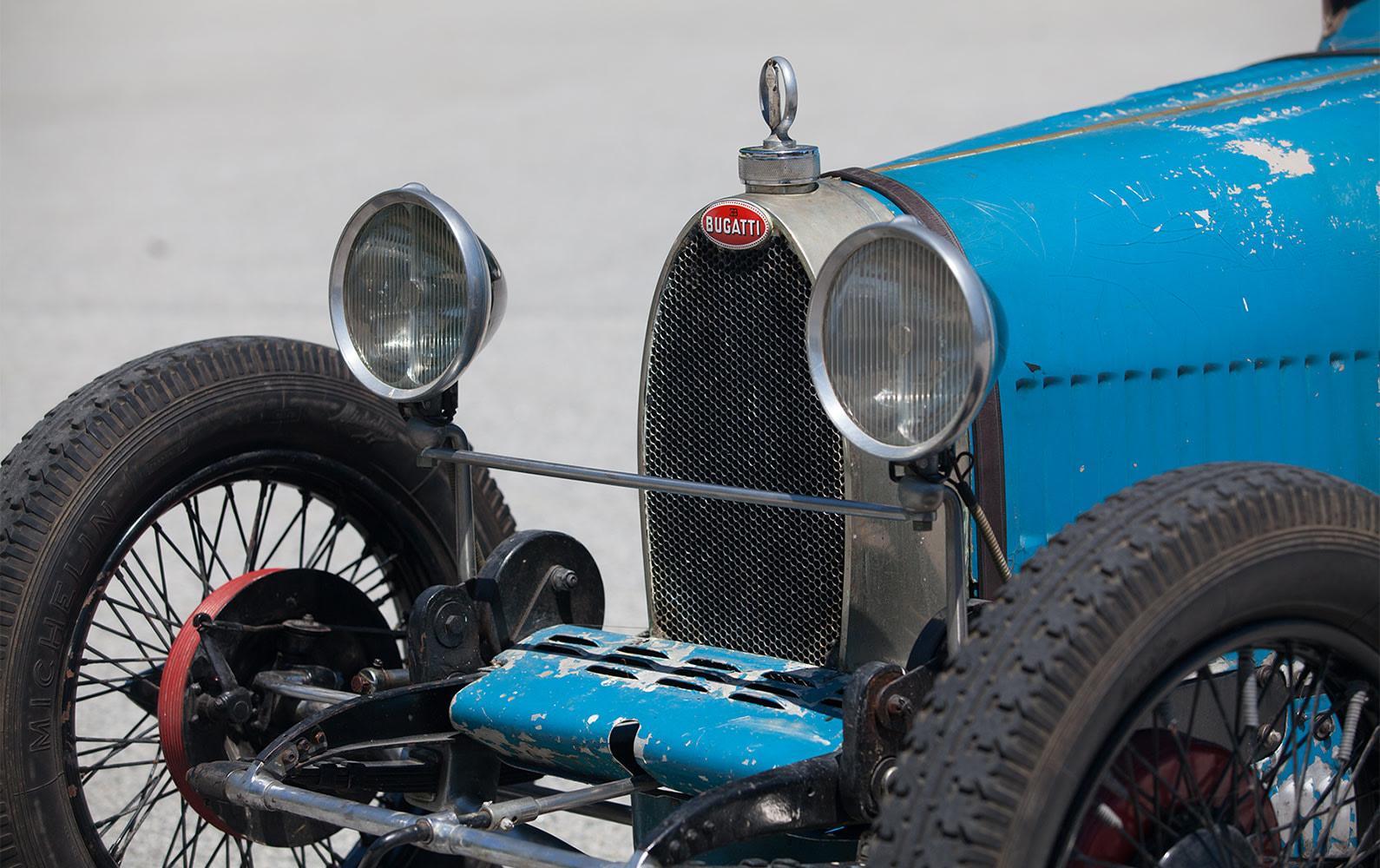 1926 Bugatti Type 37 Grand Prix front detail
