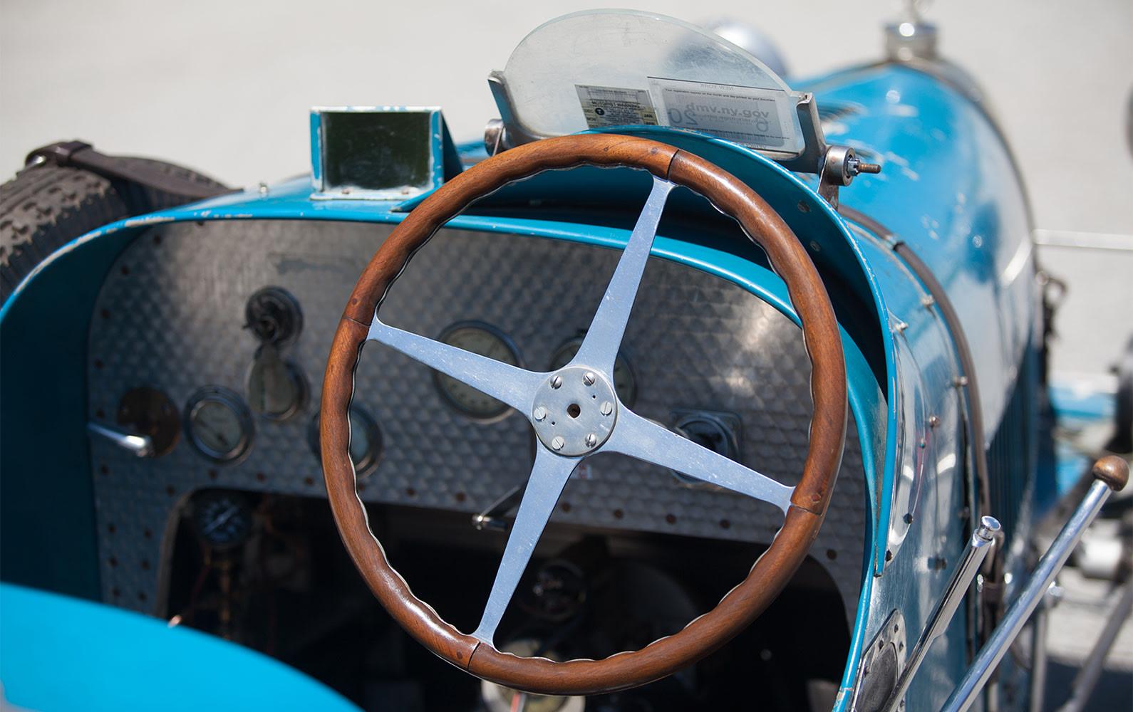 1926 Bugatti Type 37 Grand Prix steering wheel