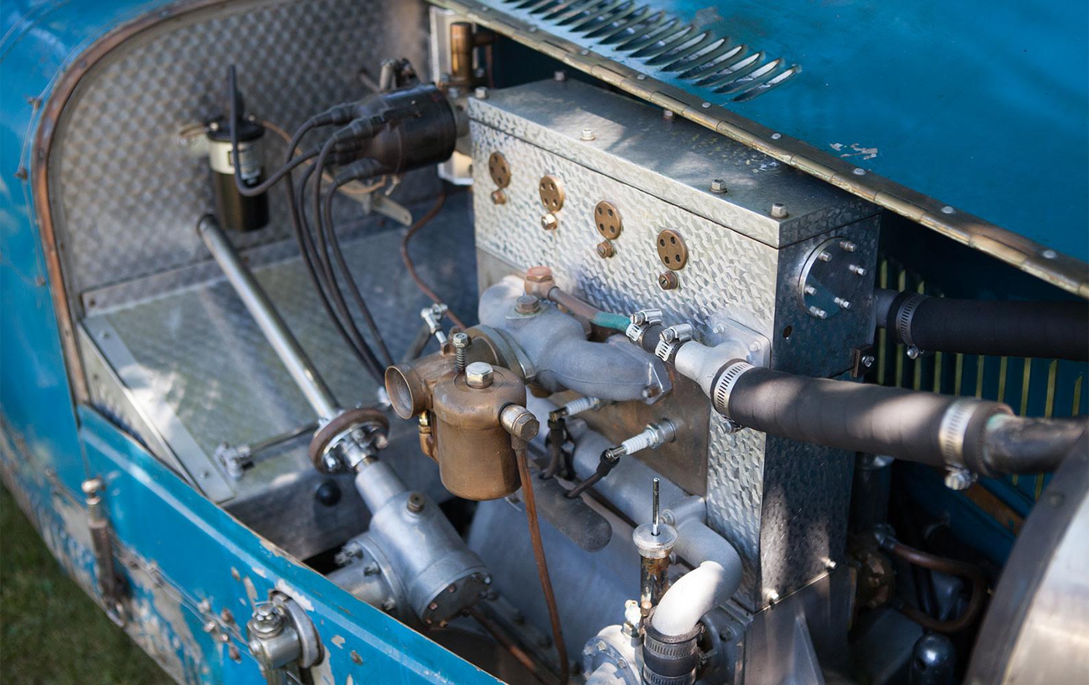 1926 Bugatti Type 37 Grand Prix engine