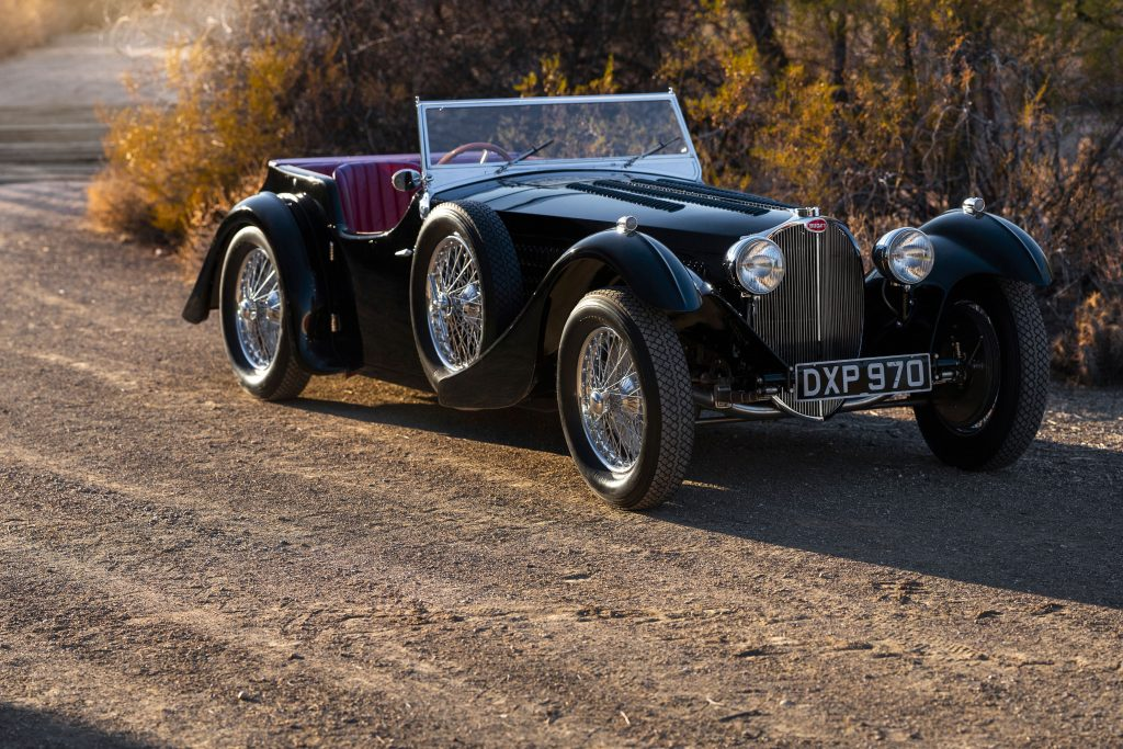 Bugatti Type 57SC front three-quarter