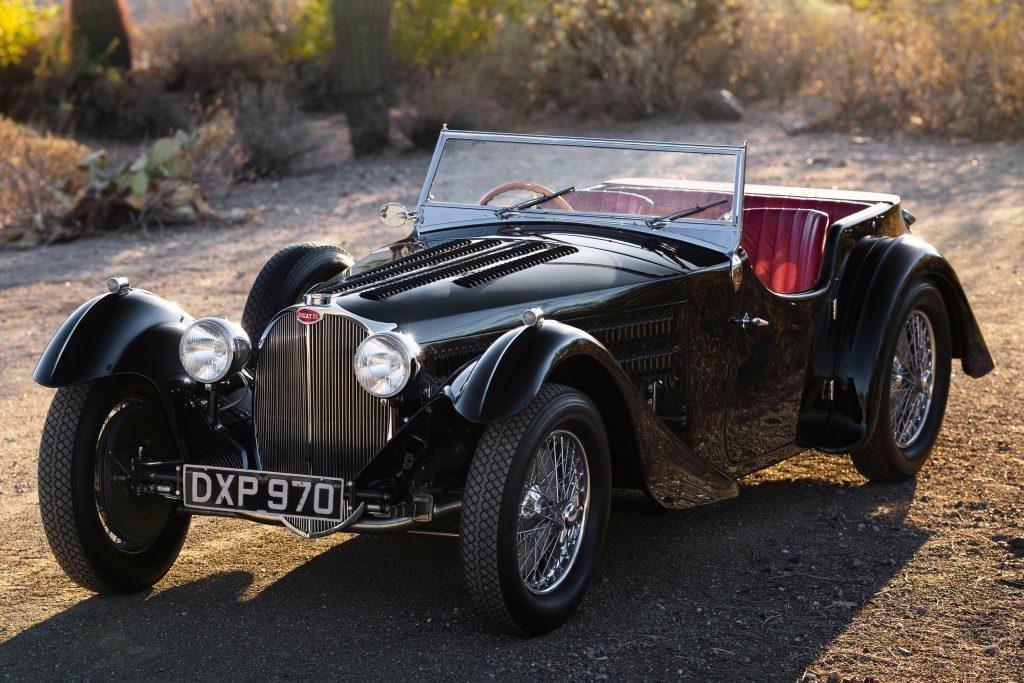 Bugatti Type 57SC Tourer front three-quarter