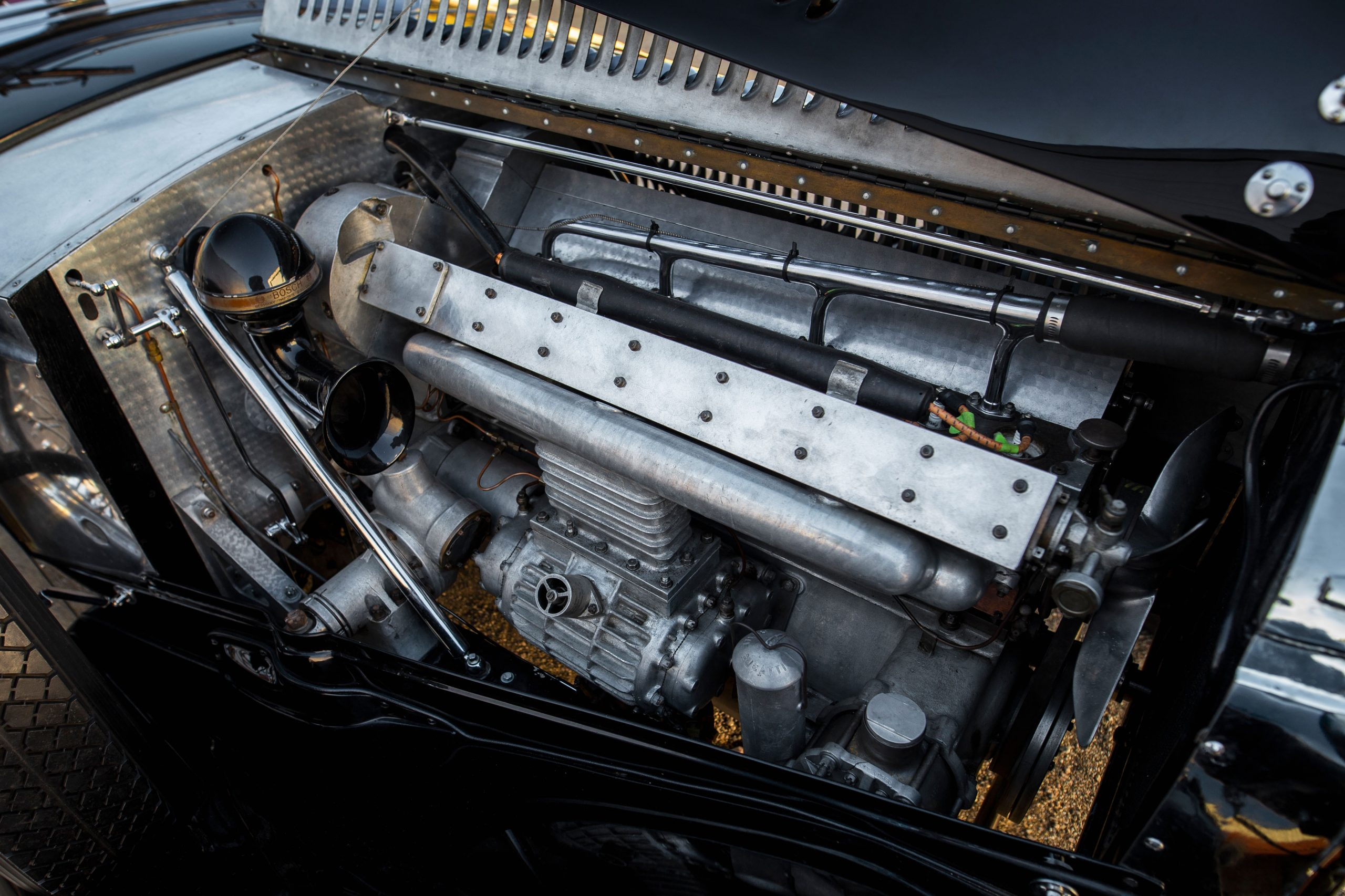 Bugatti Type 57SC engine