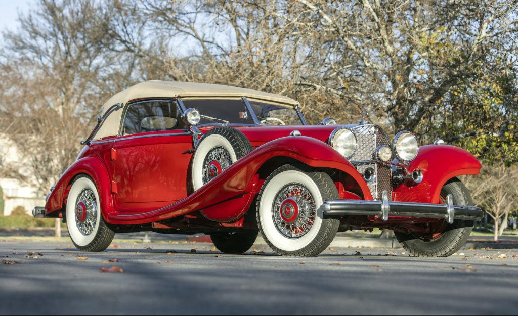 Mercedes-Benz 540K Special Cabriolet front three-quarter