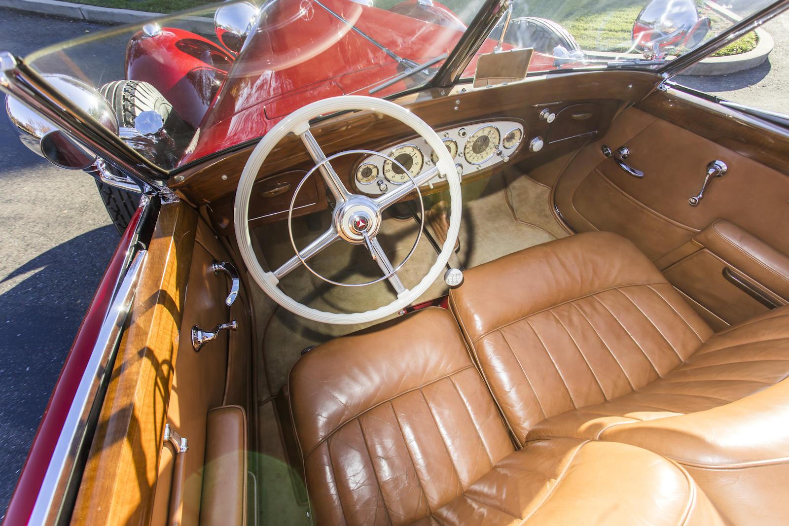Mercedes-Benz 540K Special Cabriolet interior