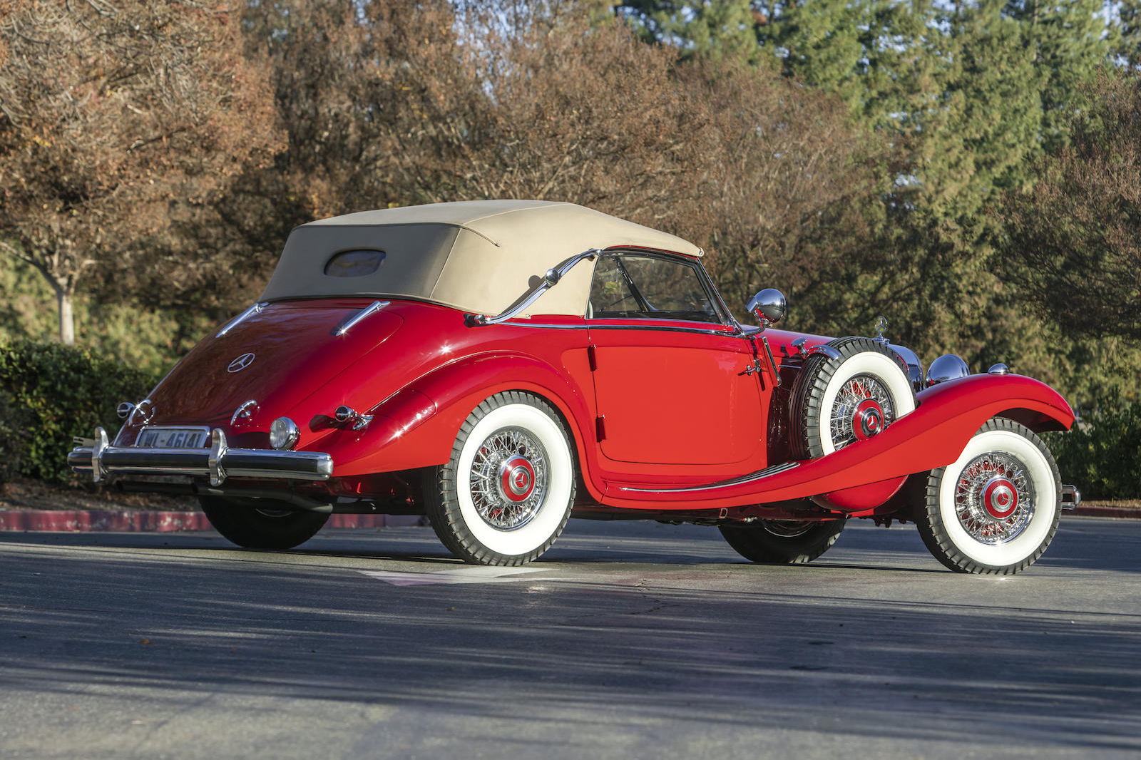Mercedes-Benz 540K Special Cabriolet rear three-quarter