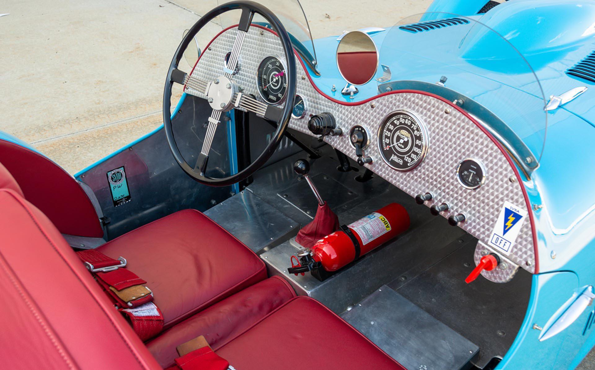1952 Allard J2 Roadster interior