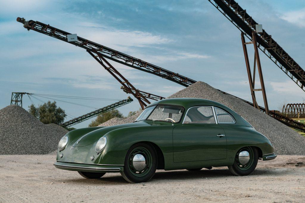 Porsche 356 Coupe Reutter front three-quarter