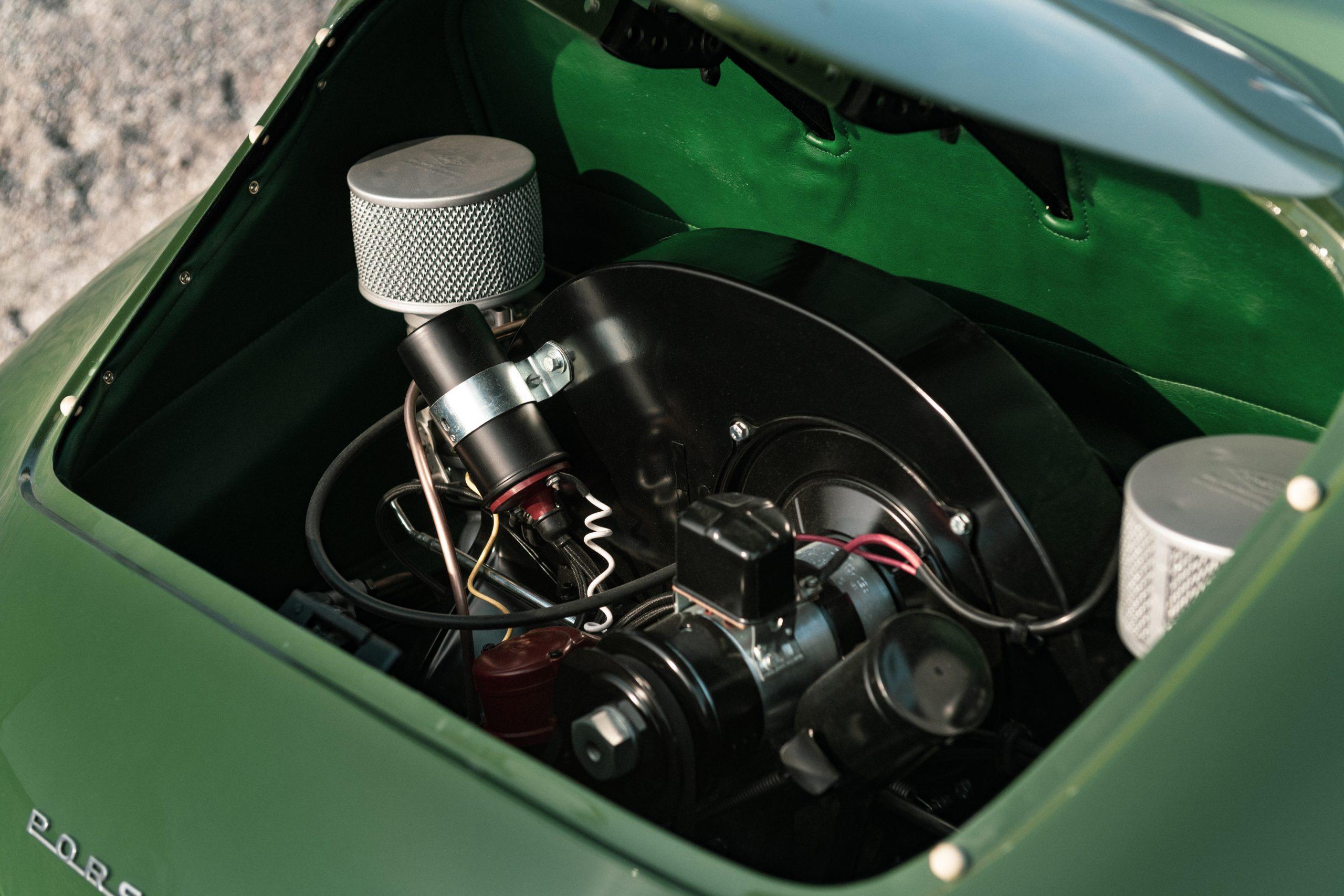 Porsche 356 Coupe Reutter engine
