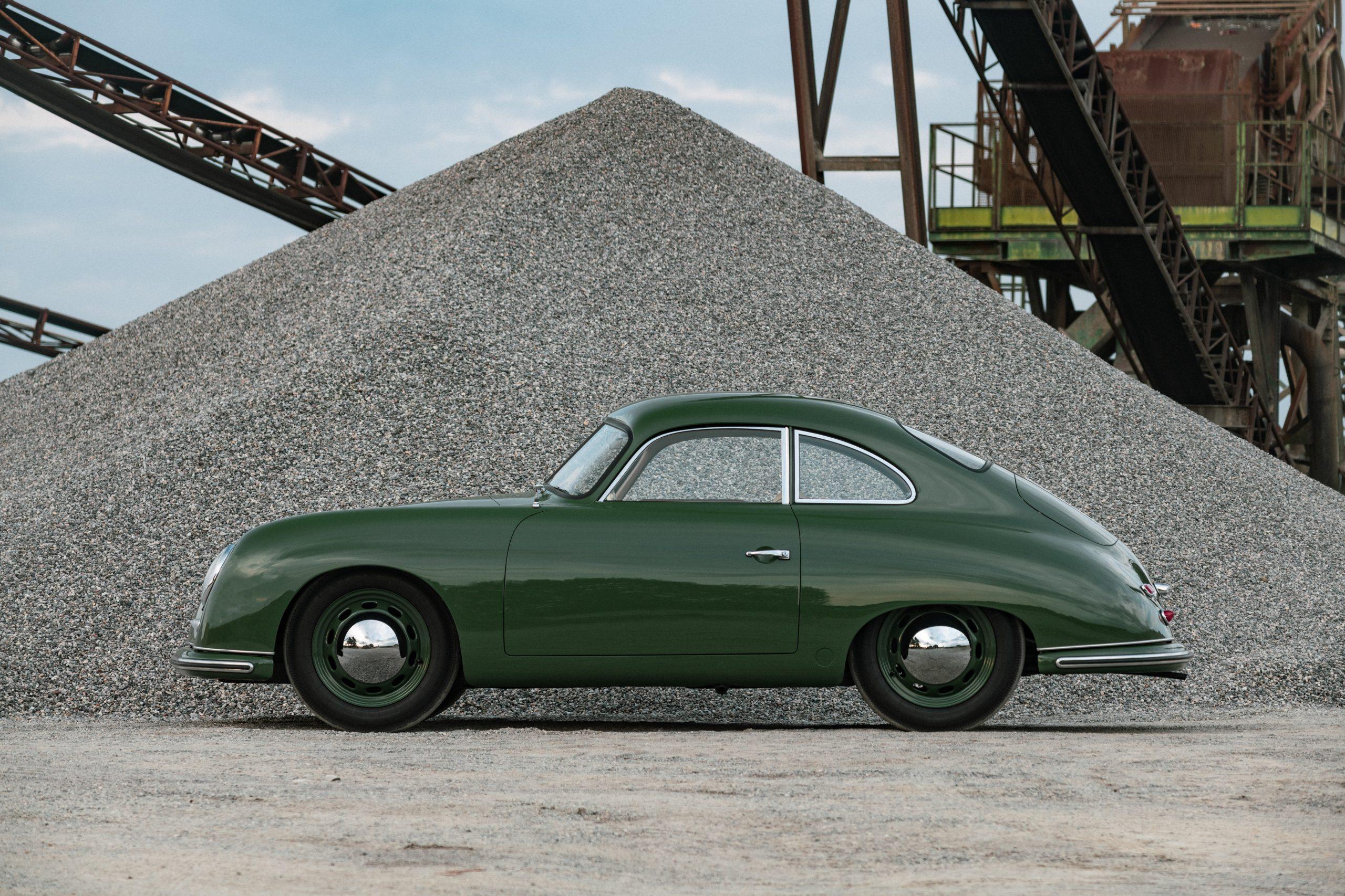 Porsche 356 Coupe Reutter side profile