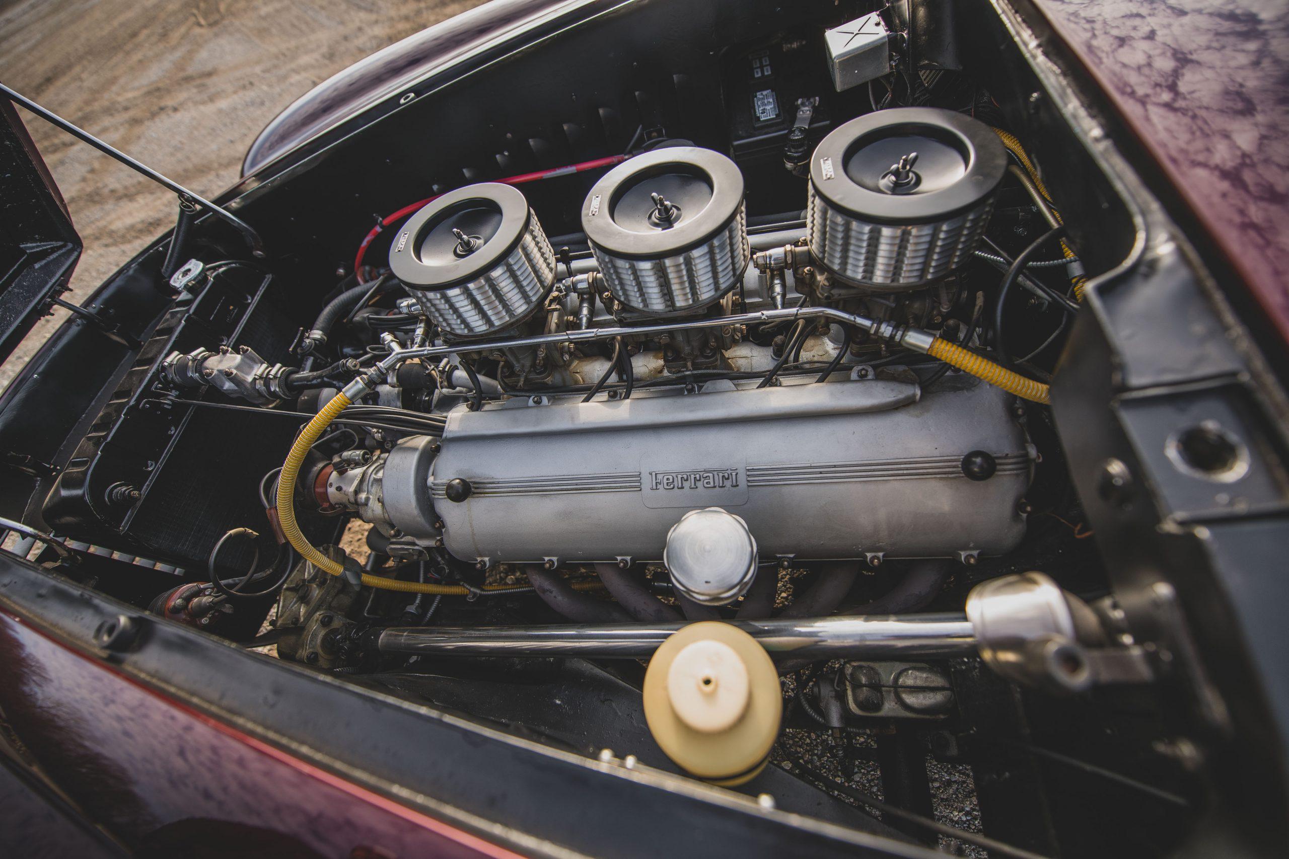 Ferrari 375 America Coupe Vignale engine