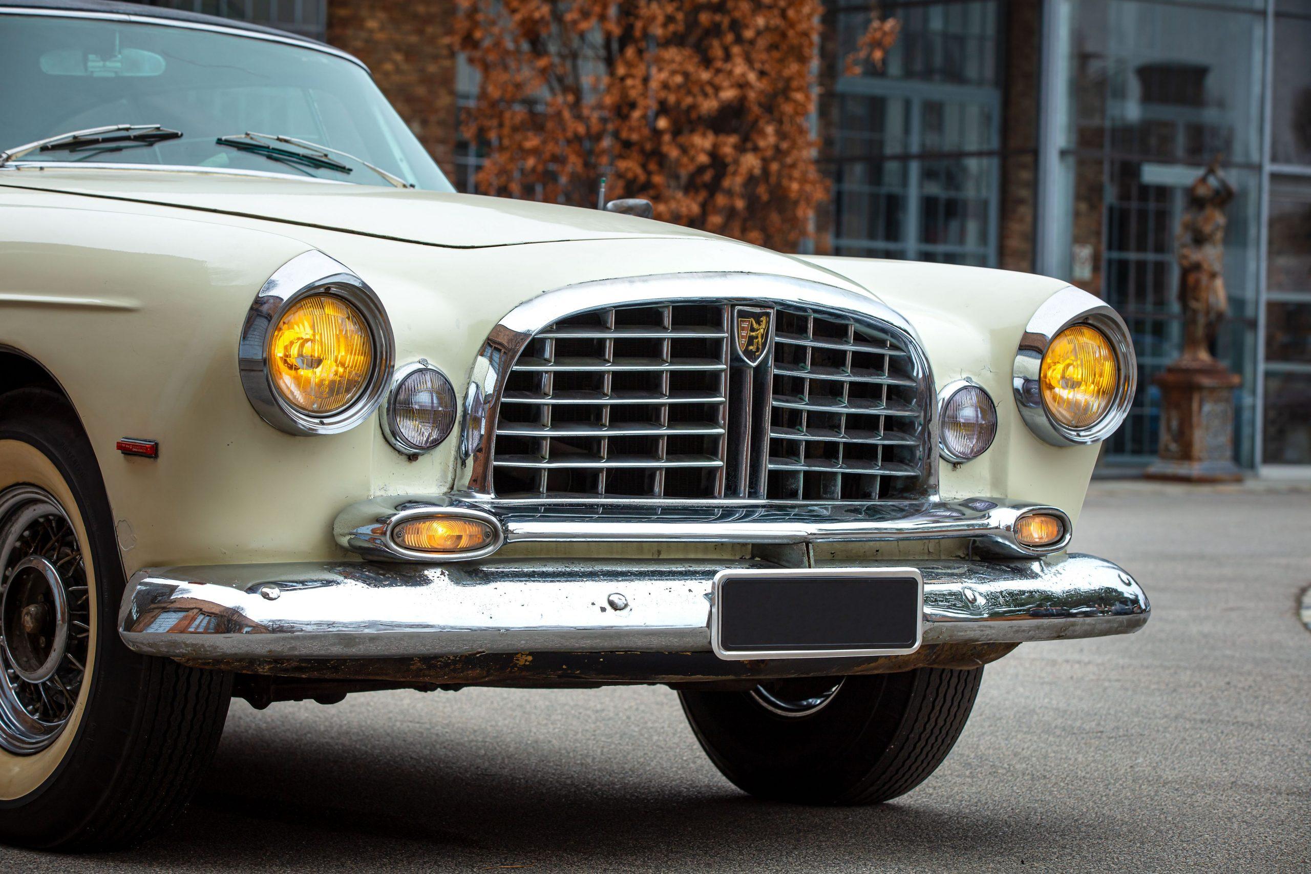 Chrysler ST Special coupe par Ghia front fascia