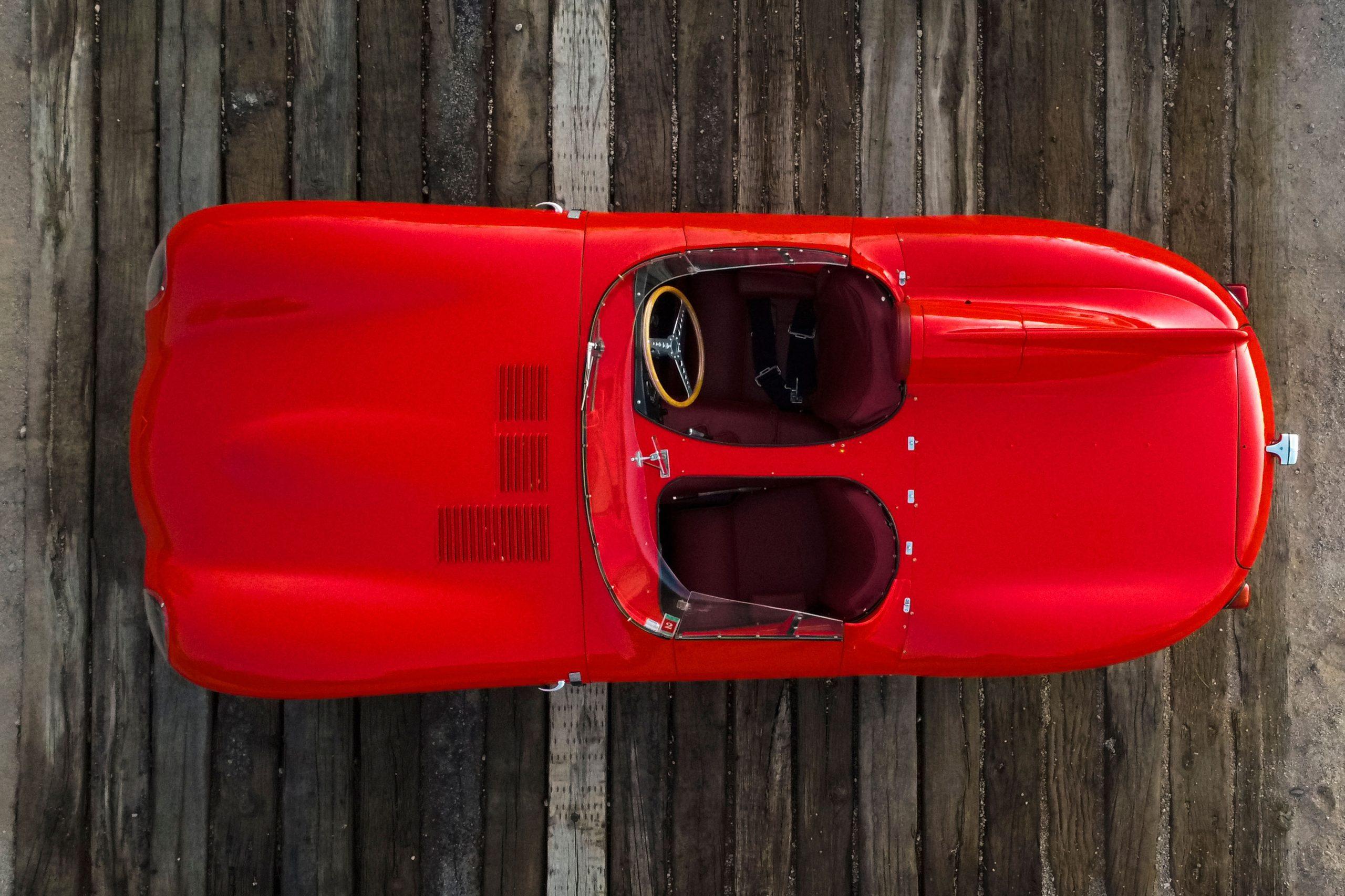 Jaguar D-Type overhead