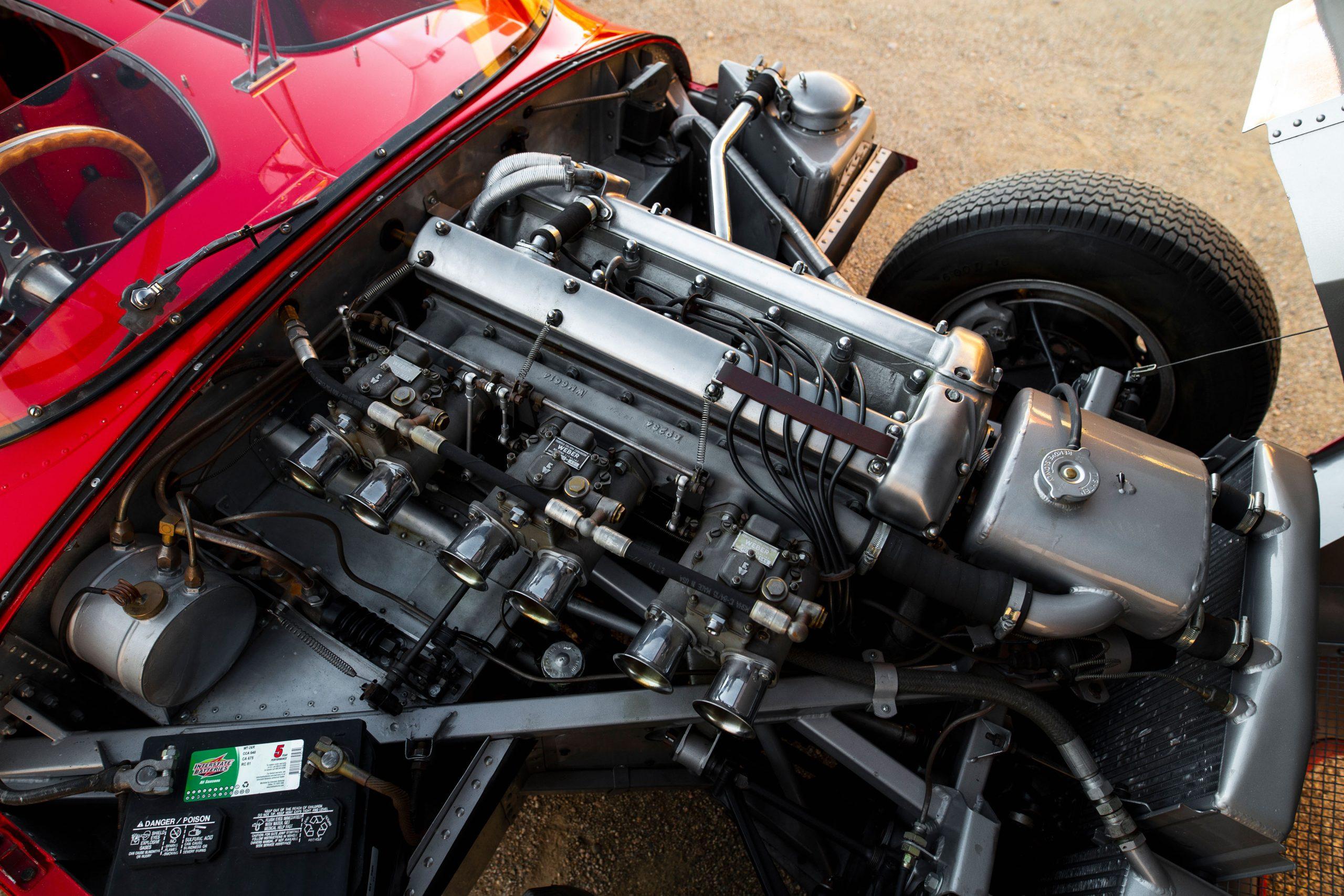 55 Jaguar-D-Type engine